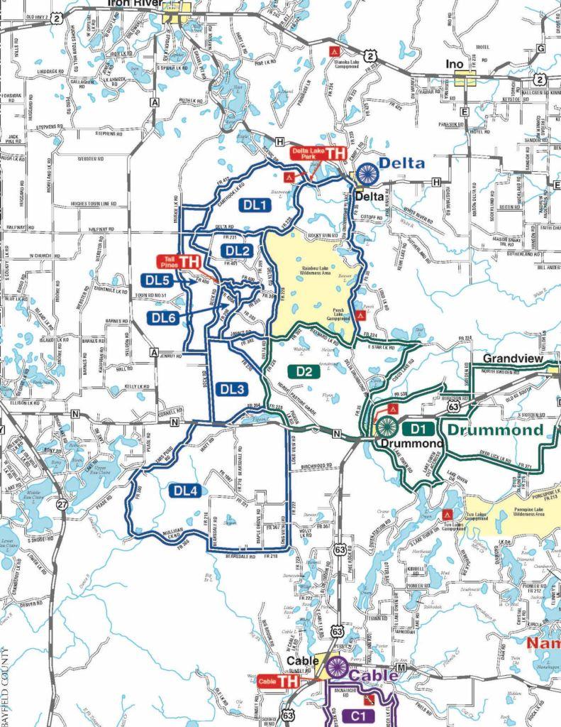 Delta Gravel Routes - Chequamegon Area Mountain Bike Association